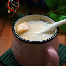 香蕉牛奶燕麦粥