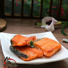 干煎三文鱼