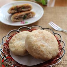 羊肉大葱香煎饼