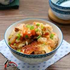 芋香腊肉番茄煲仔饭
