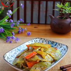 胡萝卜莴笋片