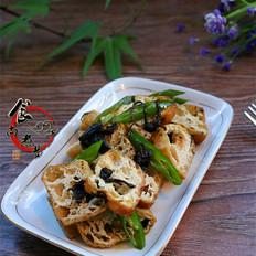 橄榄菜豆腐泡