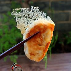 牛肉冰花饺