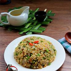 洋葱四季豆炒饭