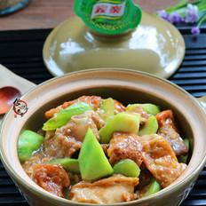 排骨丝瓜炖豆腐