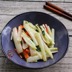 清炒白菜梗