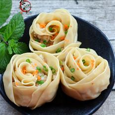 玫瑰花饺子