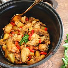 土豆烧鸡的做法