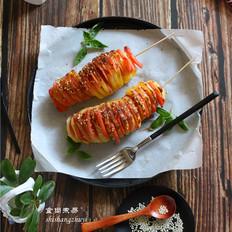 香烤风琴土豆