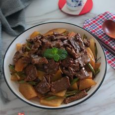 牛肉土豆片
