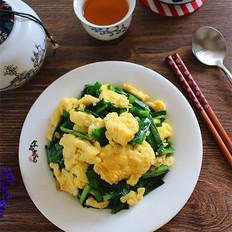水炒鸡蛋韭菜