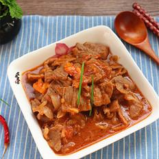 番茄黑椒炒牛肉