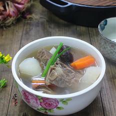 萝卜冬菇牛骨汤