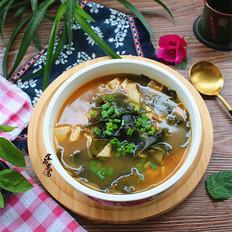 豆腐海草汤