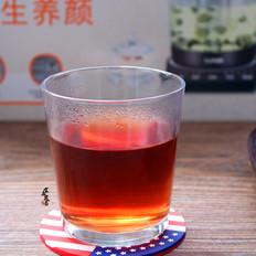 玫瑰洛神花红枣茶
