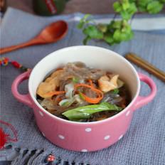 包菜豆腐泡炖粉条