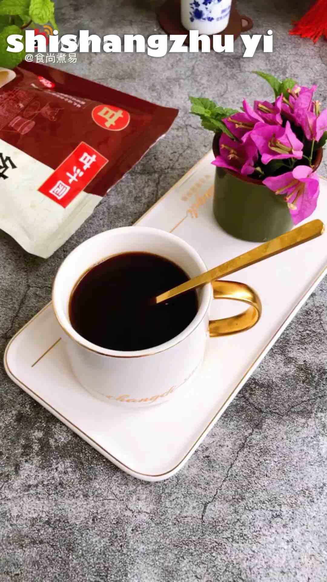 红糖生姜红枣枸杞茶