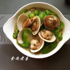 蛤蜊烩丝瓜
