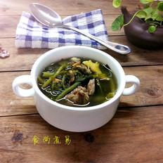 西洋菜土猪肉汤