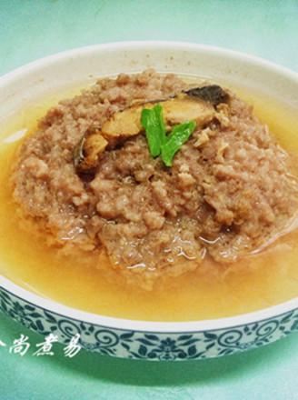 梅香咸鱼蒸肉饼的做法