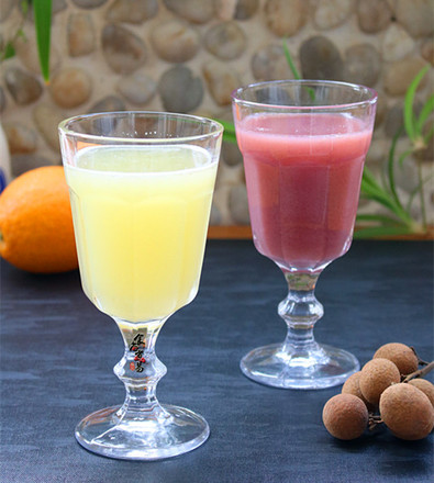 润肤养颜杂果汁的做法