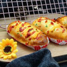 一次性发酵香葱芝士面包的做法