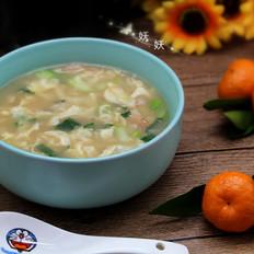 肉片疙瘩汤