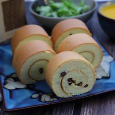 蜜豆蛋糕卷