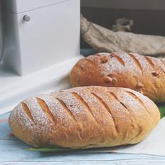 红糖坚果提子面包