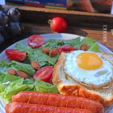 一分钟学会的美味西式早餐,让你每天早晨幸福感爆棚!