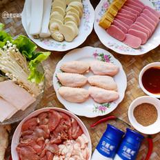在家吃烧烤,食材丰盛有食欲