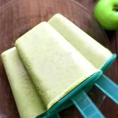 牛奶绿豆冰棍