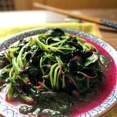 清炒紅莧菜