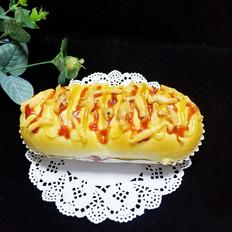 香肠芝士面包