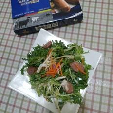 """霸王超市丨科尔沁德式黑椒牛肉肠与你的""""轻食光"""