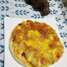香肠培根披萨