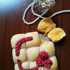 南瓜椰蓉面包(无油版)