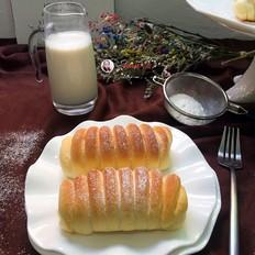 奶香面包卷