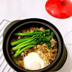 砂锅鸡肉煲仔饭