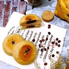 可可日式面包(黑豆沙)