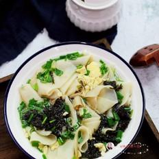 紫菜鸡蛋面皮汤