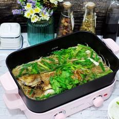 鲈鱼焖豆芽