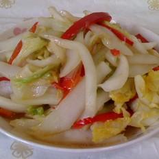 椒丝大白菜