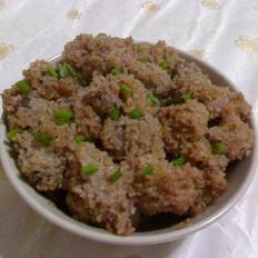 虾酱粉蒸肉