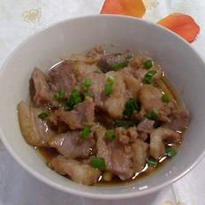 虾酱蒸猪肉
