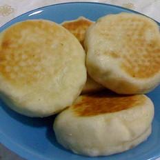 发面豆沙饼