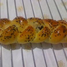 紫薯辫子面包