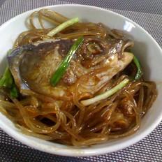 粉条炖草鱼