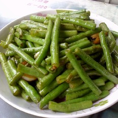 清炒豇豆角