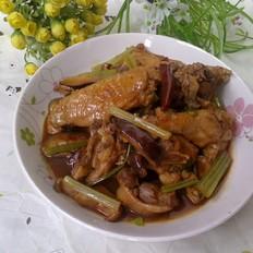 香菇炖滑鸡